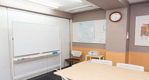 シェーン英会話銀座本校の教室内